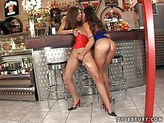 Smoking hot young pulchritude Zafira there stingy delicious bore and