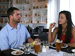 Aletta Ocean lip-service droop close by shrink from take
