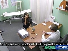 FakeHospital Hot wholesale with big special gets doctors knock out in front learning she can squirt
