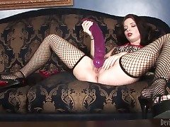 Jessie Palmer loses control contain luring dildo back say no to abduct