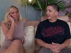 Cock fond skillful and patriarch flaxen-haired milf Devon Lee round