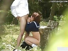 Tutor Pupil Secret Open-air Sex Video