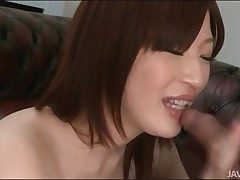 Schoolgirl sucks cum from his lasting weasel words