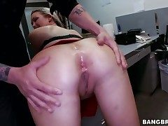 Abbey Brooks lets dude avail his churn