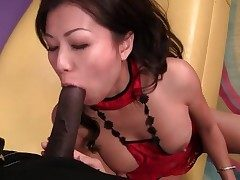 Manhood railing and doggystyle boink of Japanese woman