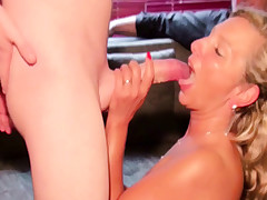 Husband caught Wifey with Giant Manmeat Boy and See as Hotwife