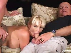 Cuckold movie with become man blowjob and hardcore lovemaking